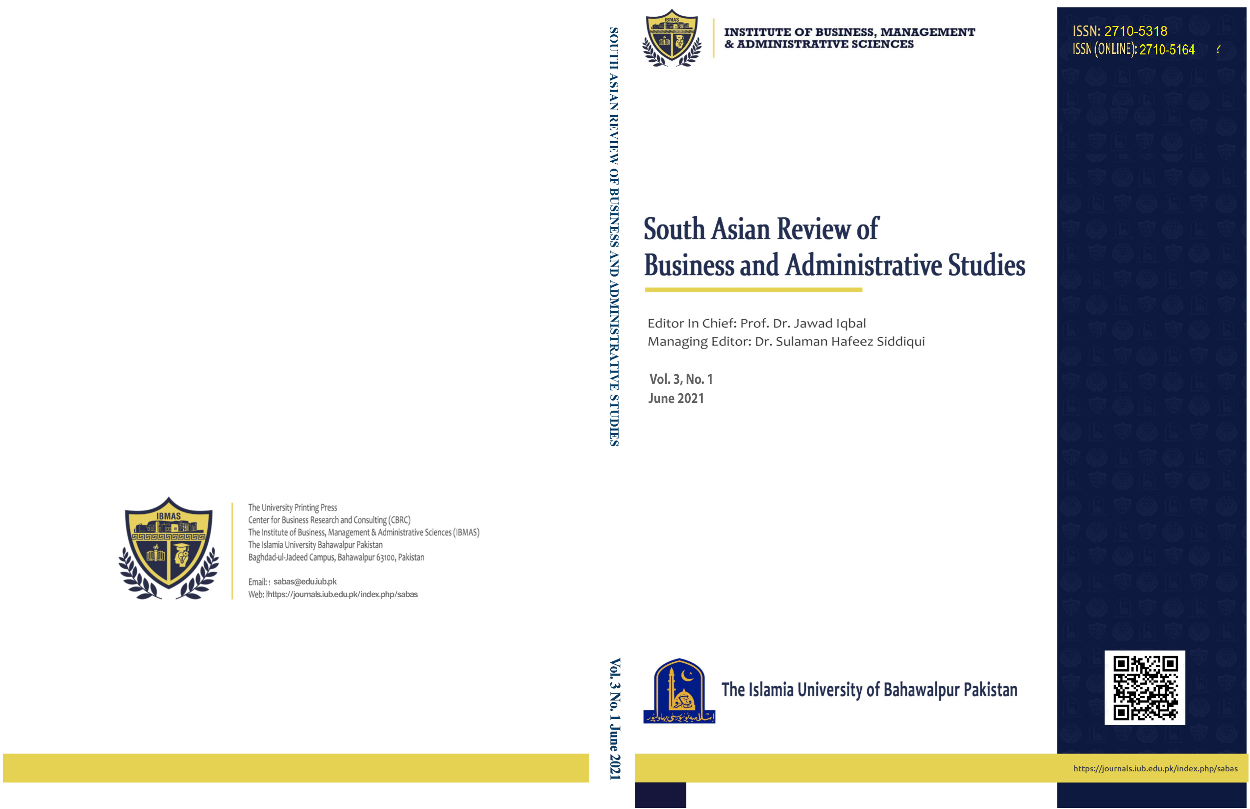 South Asian Review of Business and Administrative Studies