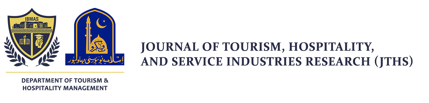 Journal of Tourism, Hospitality, and Service Industries Research (JTHS)